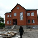 Строящийся приходской центр в г. Куйбышев