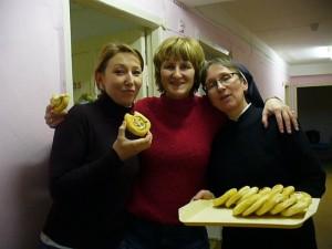 С. Каролина Сломиньска: Полдник с мамами