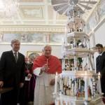 Бенедикт XVI и президент Германии Кёлер: обмен подарками