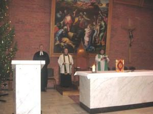 Молитва о единстве христиан в Кафедральном соборе Преображения Господня в Новосибирске