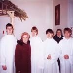 С сестрами Тересой Алькасер и Ассунтой Скопеллити