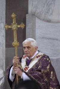 Бенедикт XVI, Пепельная Среда 2009