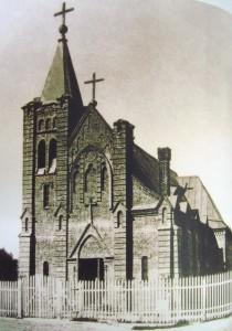 Католический храм в Барнауле, построенный в начале XX века