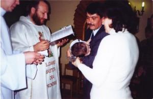 Крещение маленького Вольдемара в Горно Алтайске