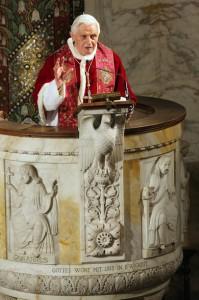 Проповедь Бенедикта XVI