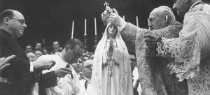 Коронация статуи Богородицы Фатимской