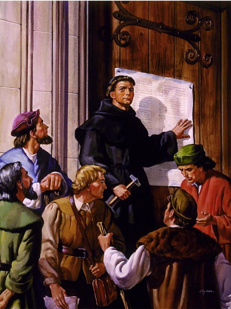 the protestant reformation in the eyes of martin luther king and john calvin