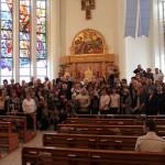 Участники празднования 20-летия католического прихода в г. Магадане
