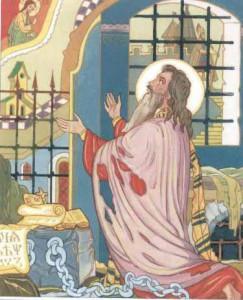 Святой Мефодий в заключении