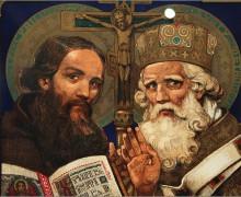 14 февраля. Свв. Кирилл, монах, и Мефодий, епископ. Покровители Европы, Просветители славян. Праздник