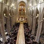 Папская Месса в Кафедральном соборе Альмудена