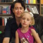 Елена Дидоха с дочерью Катей
