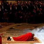 Литургия Страстной пятницы с Папой Франциском (1)