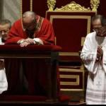 Литургия Страстной пятницы с Папой Франциском (4)