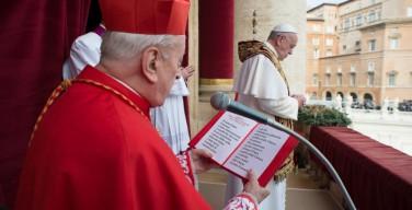 Папа Франциск огласил имена новых кардиналов