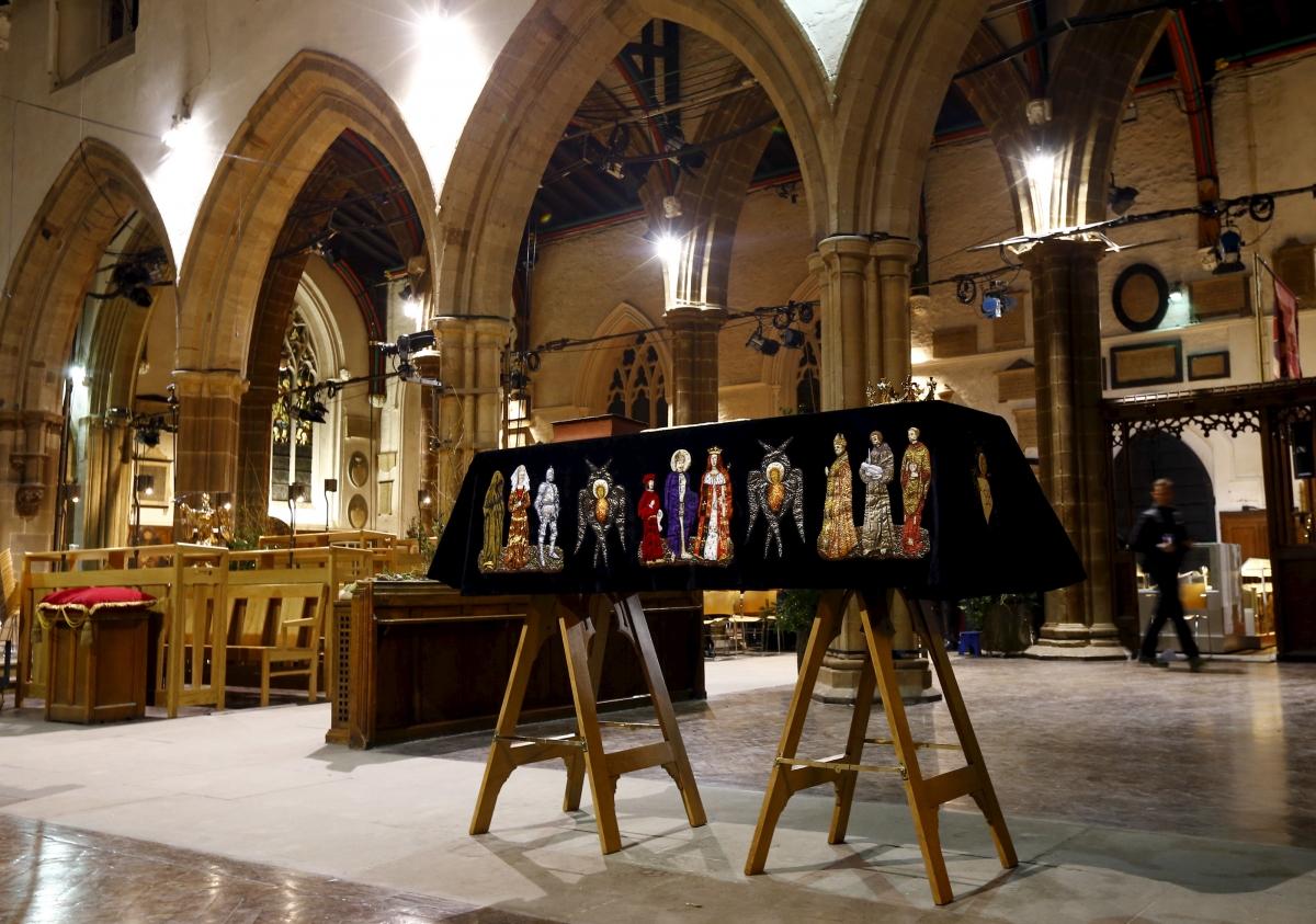 Останки английского короля Ричарда III перезахоронены в Лестерском соборе