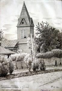 Католический храм в Кургане