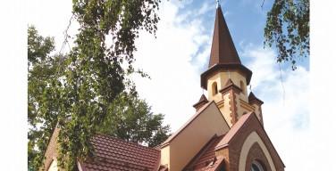 Анонс: освящение Храма Воскресения Господня в поселке Краснозерское