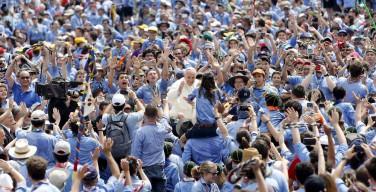 Папа и сто тысяч итальянских скаутов