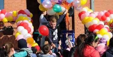Празднование Дня защиты детей в Каритас Новосибирска