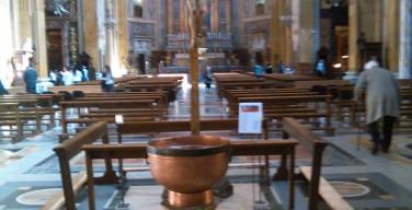 В церкви Джезу в Риме