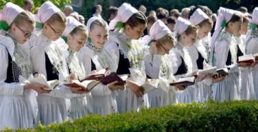 Праздничные шествия на Corpus Christi