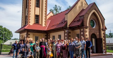 Освящение Храма Воскресения Господня в поселке Краснозерское