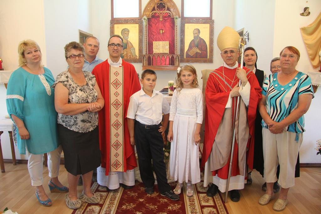 Пастырский визит епископа Иосифа Верта в католическую общину Куйбышева