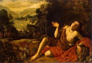 Юный Иоанн Креститель в пустыне