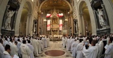 Папа — движению Харизматического обновления: не опасайтесь нежности Бога