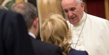 В центре экономического развития должен быть человек. Встреча Папы с итальянскими кавалерами труда