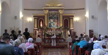 Католики города Пушкина отпраздновали 190-летие со дня закладки своего храма