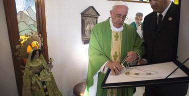 Папа Римский Франциск оставил в Боливии свои награды от президента Эво Моралеса