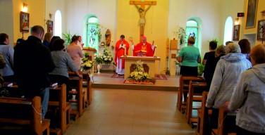 Визит епископа Иосифа Верта в приходы Омского деканата