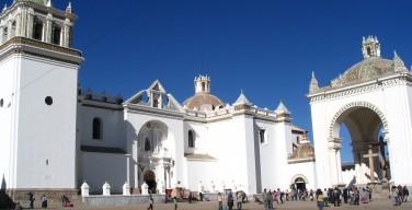 Базилика Богоматери Копакабанской в Боливии (фото)