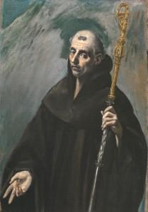 Святой Бенедикт Нурсийский в изображении Эль Греко