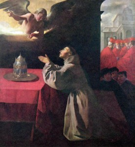 Субраган. Молитва святого Бонавентуры