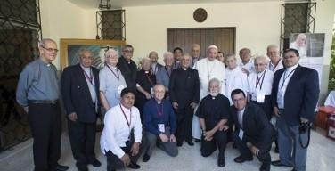 Папа в Эквадоре: Встреча с собратьями-иезуитами
