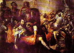 Раненый Иньиго де Лойола
