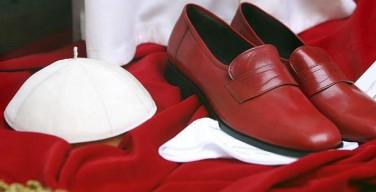 Бенедикт XVI пожертвует свои красные туфли на благотворительность
