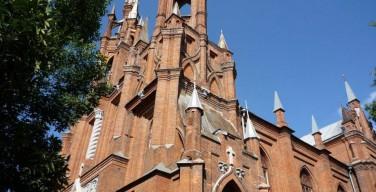 В Самаре начали реставрировать католический храм Пресвятого Сердца Иисуса