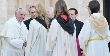 Папа — министрантам: «Любовь Иисуса делает нас сильнее»