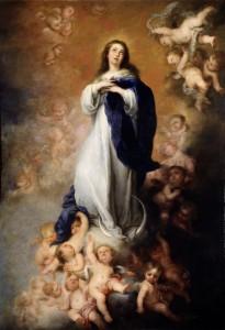 Мурильо. Взятие Пресвятой Богородицы в небесную славу