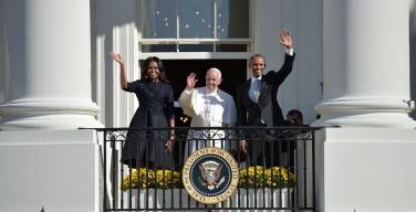 Визит Папы в Белый дом (фоторепортаж)