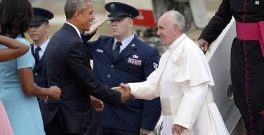 Папа Франциск прибыл в США