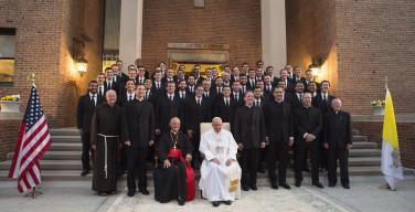 Папа Франциск посетил Духовную семинарию им. Иоанна Павла II в Вашингтоне