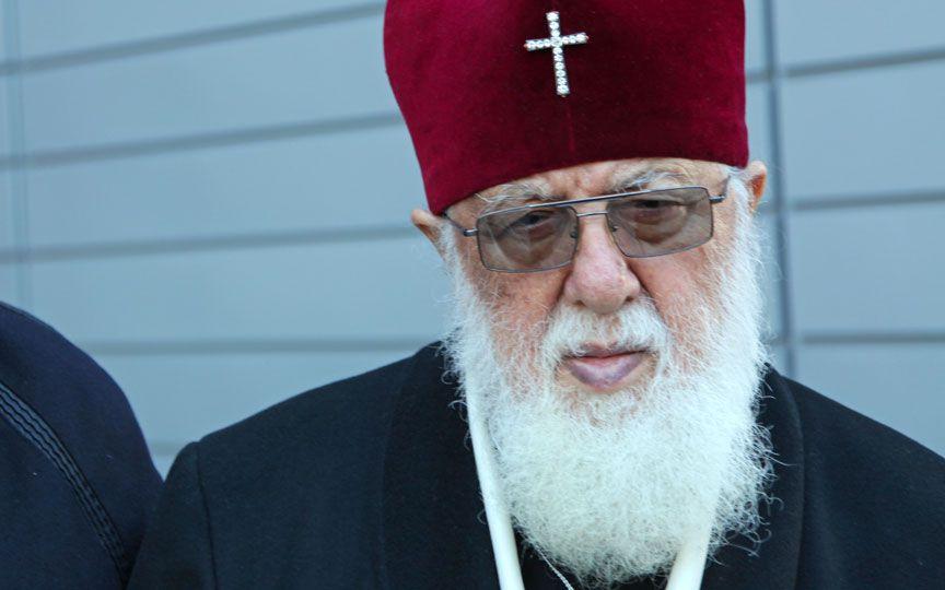 Грузинский патриарх Илия посетил районы вблизи «оккупационной линии»