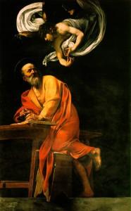 Караваджо. Вдохновение евангелиста Матфея