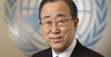 Пан Ги Мун дал интервью в связи с предстоящим визитом Папы Франциска в ООН