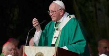 Проповедь Папы Франциска на площади Революции в Гаване 20 сентября 2015 г.